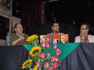 Bachan, yo mero y ramos en el Comic rock show