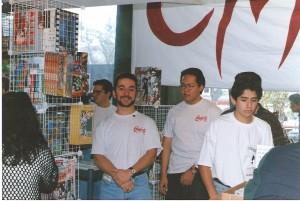 Carlos Tron, dueño de Comics S.A.