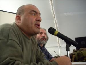 Clement y el maestro Luis Fernando derrochando a borbotones sabiduría