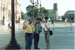 """Clement, Pelaez y nustro """"sensacional"""" guía"""