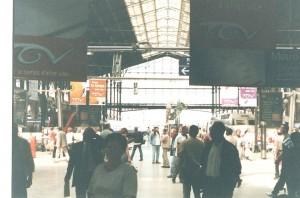 La estación de trenes