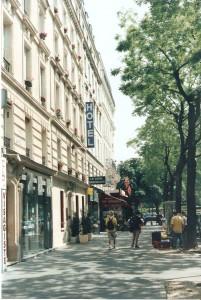 El Hotel donde nos quedamos en París