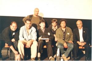 Bachan, Yo Mero, Clement (parado) Patrick Gaumier, William y Pelaez