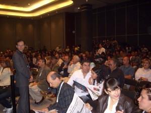 Nos abrumó la cantidad de gente en todas las conferencias