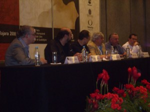 Miren nomás que panel: Aragonés, Kemchs, Hernandez, Naranjo, Rius y Helguera