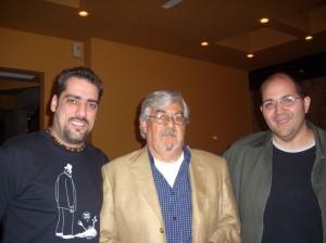 Un gran tipo Rogelio, Bachan y yo disfrutamos como nunca platicar con el