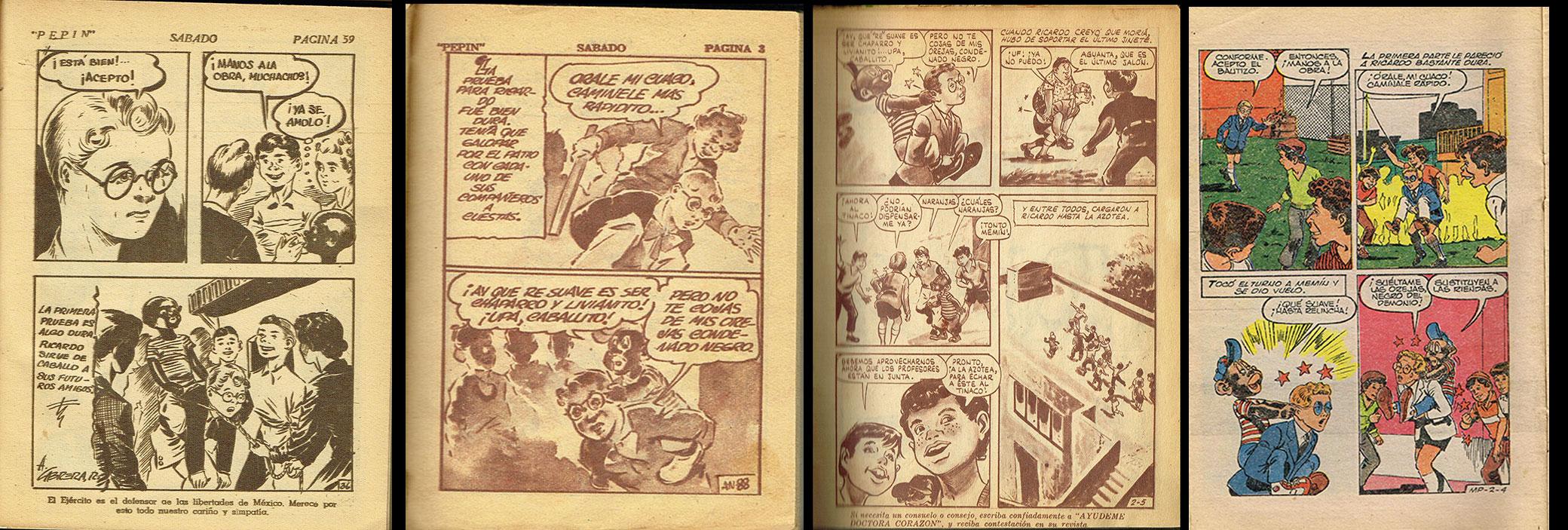 la misma pagina en orden de aparición: 1943, 1954, 1962, 1985.